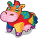 Patchwork cow single