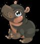 Cubby hippo mile3 single