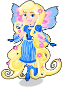 Rapunzel fairy static