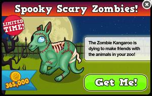 Zombie kangaroo modal