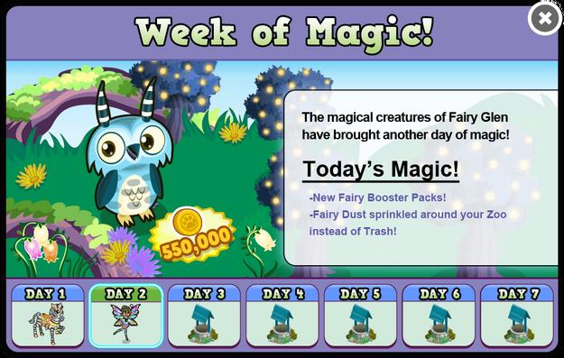 Fairy glen week2 modal
