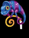Party chameleon static
