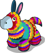 Pinata donkey single