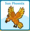 Sun phoenix card