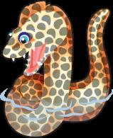 Moray eel single