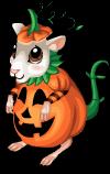 Pumpkin mouse static