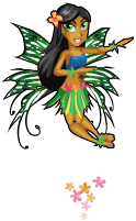 Hula fairy an