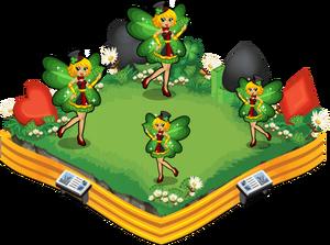Lady luck fairy family