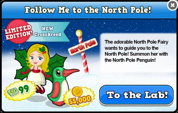 North pole fairy modal