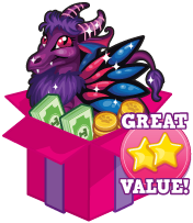 Booster pack fairytale dragon