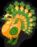 Bucks peacock single