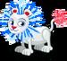 Fireworks lion single