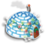 Goal igloo icon