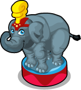Circus Elephant single