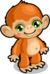 Cubby monkey desert single