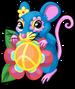 Flower power mouse single