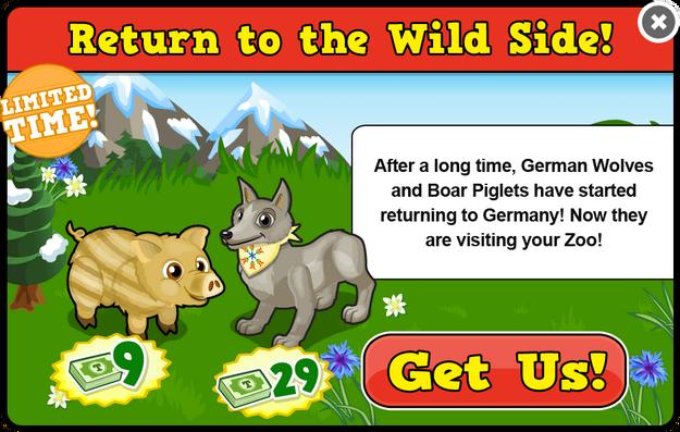 German wolf modal