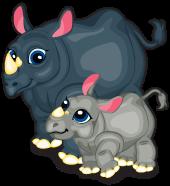 Black rhinoceros single