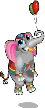 Parade elephant an