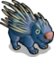 Crested Porcupine single