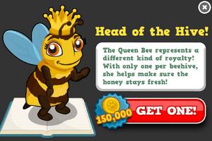 Queen bee modal
