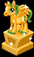 Bucks Pegacorn Cubby Statue