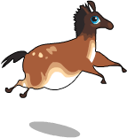 Cave painting horse an