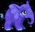 Cubby elephant midnight single