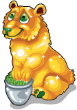 Gold bucks bear static