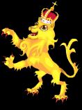 English lion static