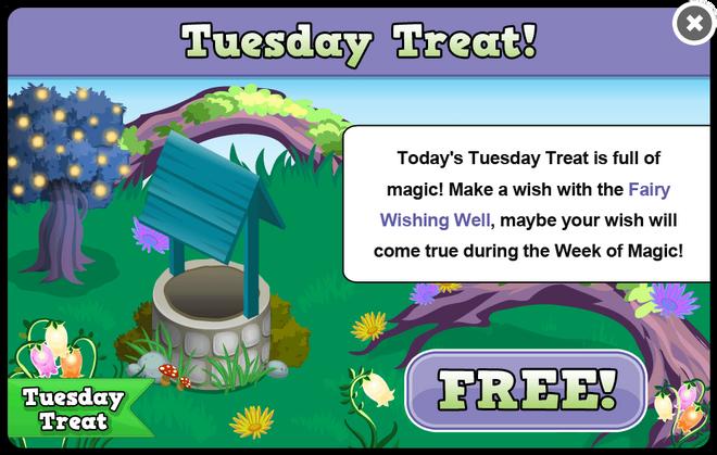 Fairy glen tuesday treat modal