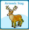 Artemis stag card