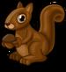 Chocolate squirrel single