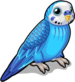 Blue parakeet single