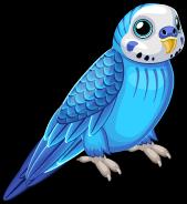 Blue parakeet single