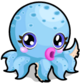Cubby Octopus Blue single