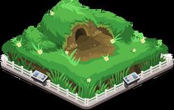 Critters burrow
