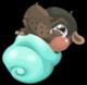 Cubby hippo mile1 single