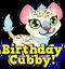 Cubby lion birthday hud