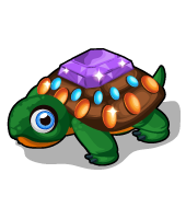 Rhinestone turtle single