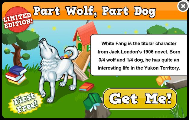 White fang modal