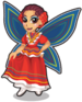 Folklorico fairy single