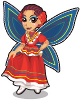 Folklorico fairy single