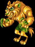 Golden bucks werewolf static