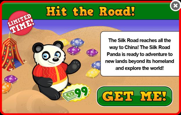 Silk road panda modal