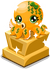 Cubby Octopus Trophy