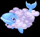Sky whale single