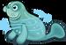 River manatee single