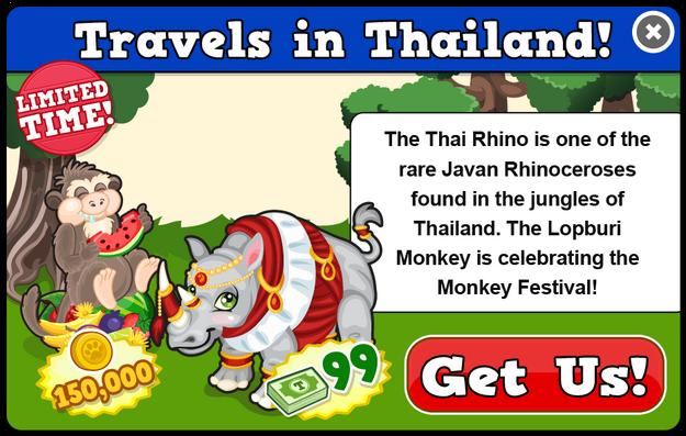 Thai rhino modal