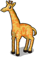 African giraffe single